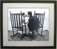 personal photograph in custom frame
