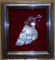 Innerwood Gallery, brooch, velvet, shadowbox