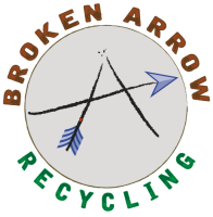 broken, arrow, recycling, metal, scrap, allegan, michigan