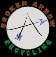 broken, arrow, recycling, metal, scrap, allegan, michigan
