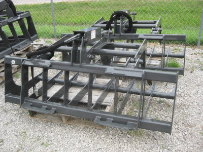 CID Attachments Quick Tach Skid steer grapples buckets