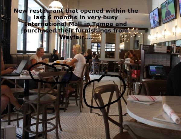 Last Minute Restaurant Furniture