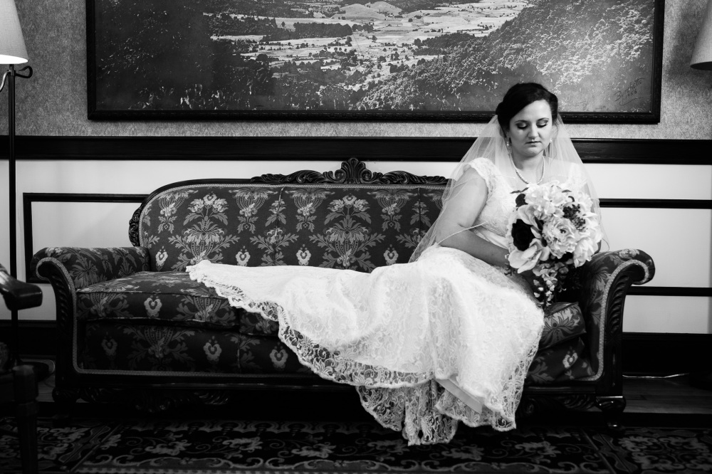 Morgan's The Inn at Wise Virginia Bridal Portraits