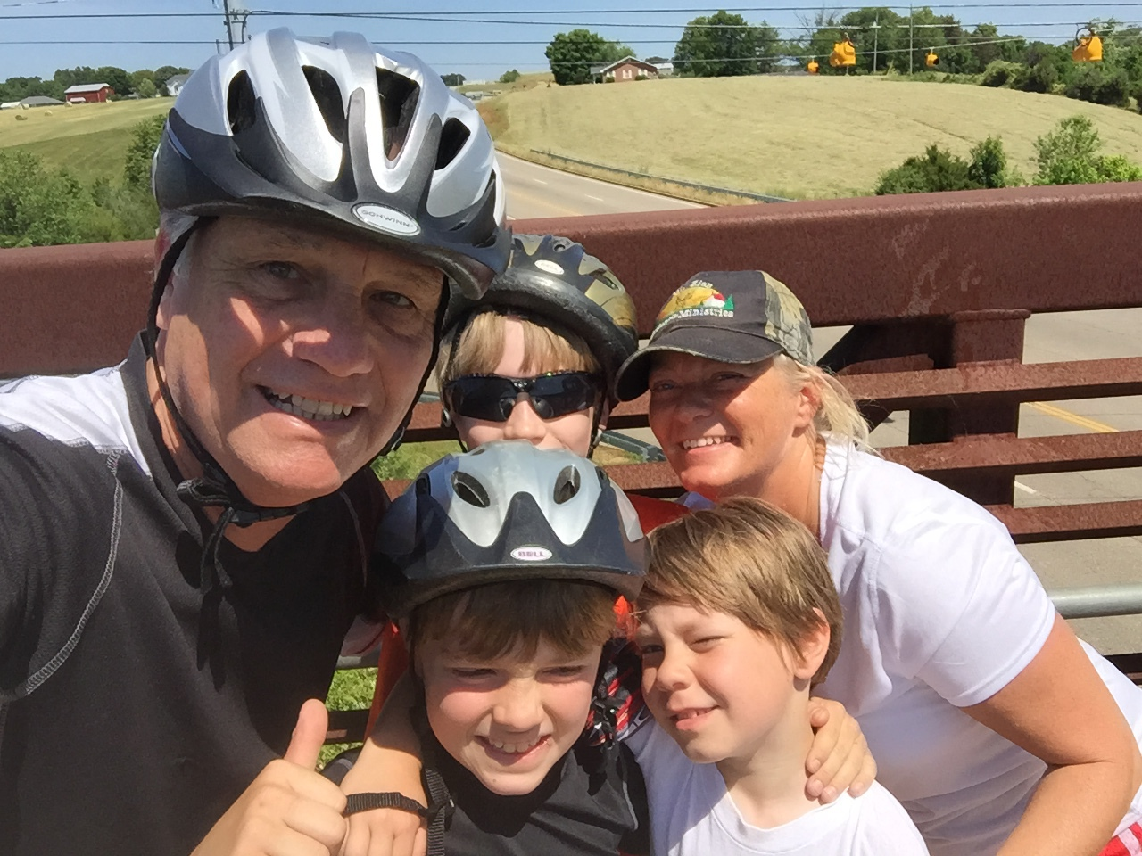 Bicycle Ride With The Pastor