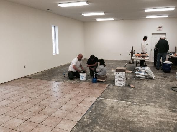 Remodeling Fellowship Hall