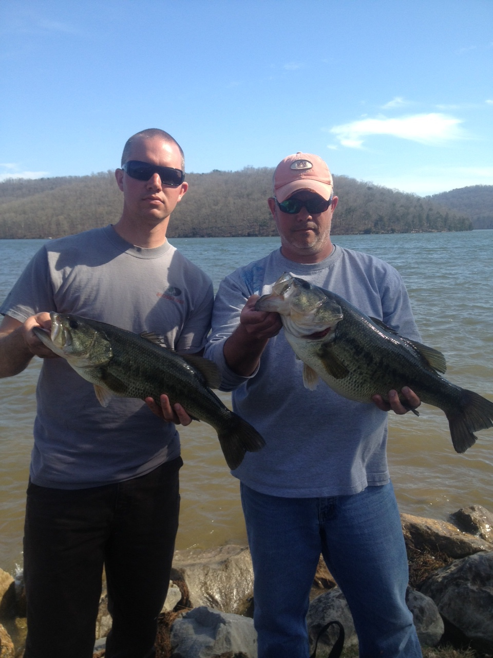9 lbs Bass +1 -- caught by Jason Nielsen on lake guntersville