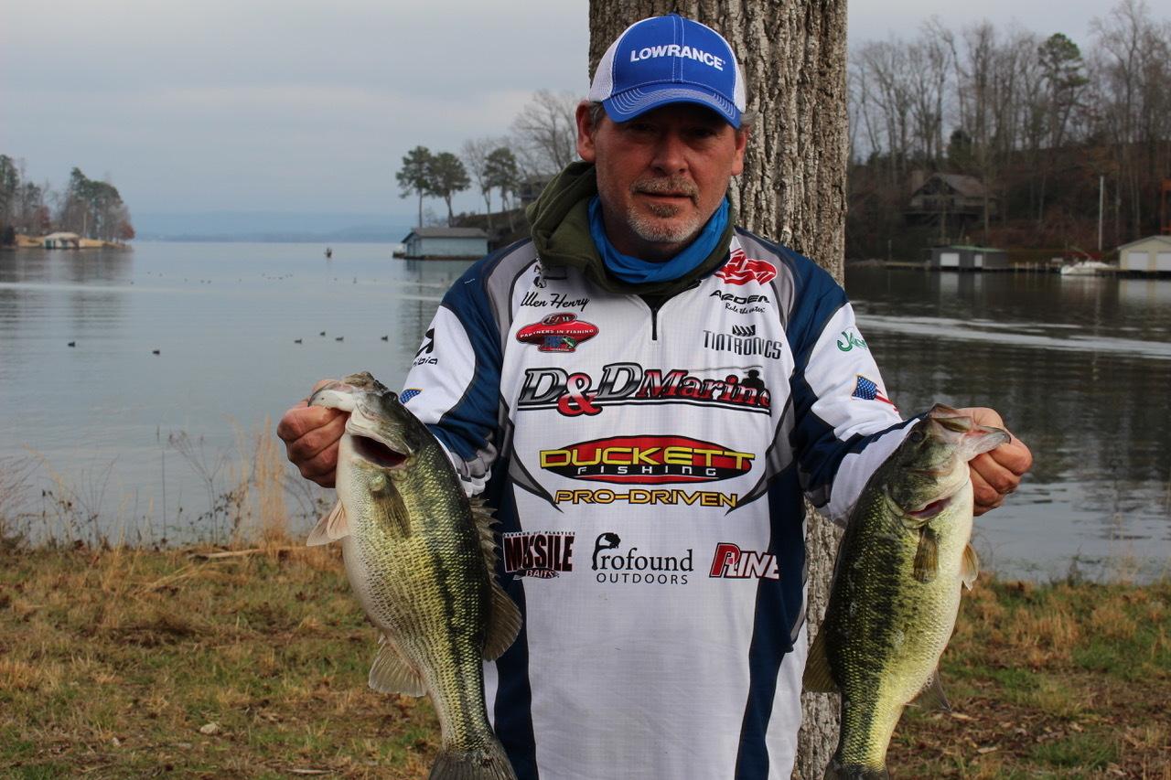 Tourney#1 - Lake Guntersville - 1st Place - Allen Henry/John Hill  (14.18 lbs)
