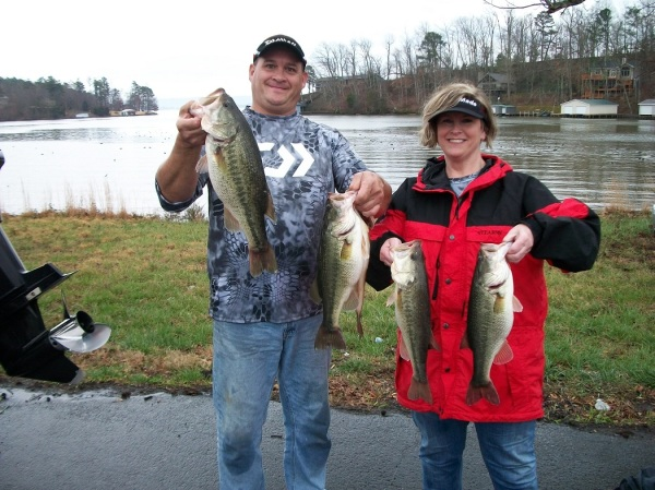 Tourney #1 Lake Guntersville - 2nd Place: John Hill/Gary Woods 21.66 lbs.