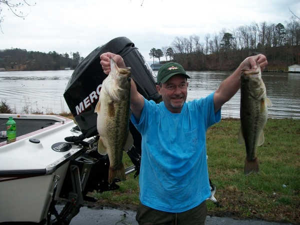Tourney#1 Lake Guntersville-3rd Place: Steve Middlebrooks/Eddie Middlebrooks 15.30 lbs.