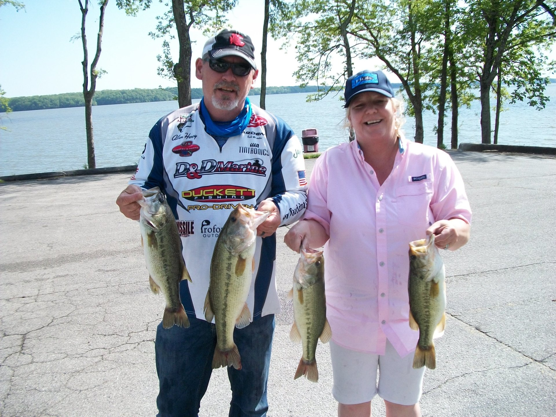 Tourney #4 Wilson Lake - 1st Place:Kristie Henry/Allen Henry 14.51 lbs.