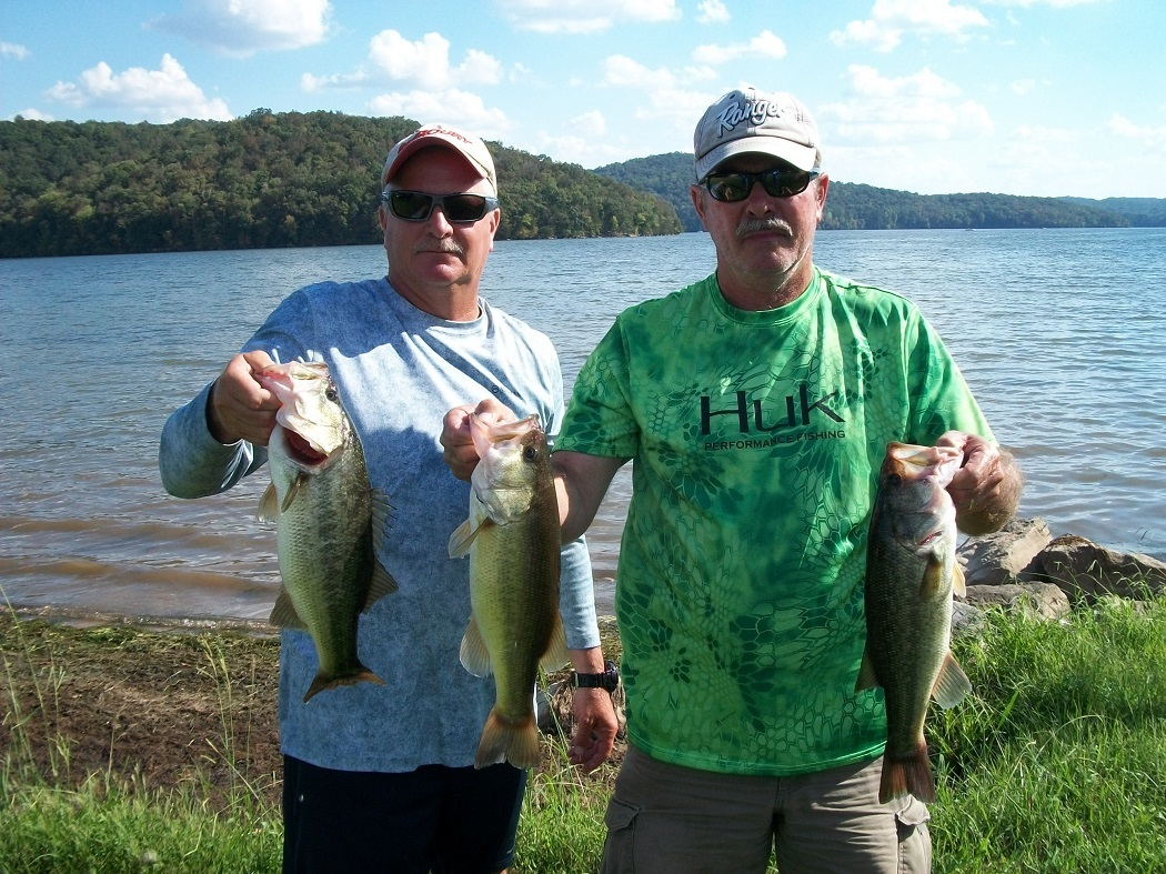 Tourney#10 Lake Guntersville - 1st Place: Terry Harbin and Bobo Burke 13.87 lbs.