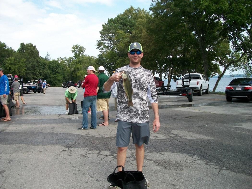 Caleb Richardson 3.88 lb. Largemouth - Tourney#8 (08/18/18) Wilson Lake