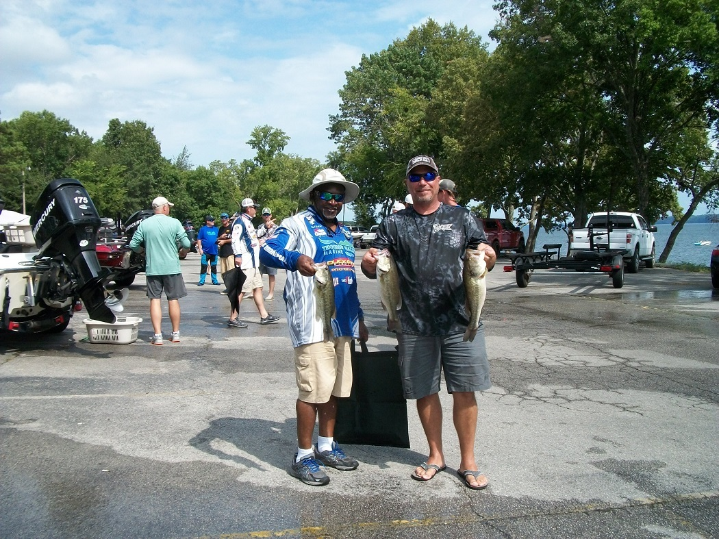 Tourney#8 Wilson Lake - 2nd Place: Rickey Askew and Gary Hunt - 8.29 lbs.