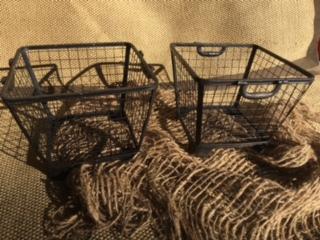 2-Piece Iron Storage Baskets