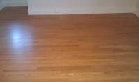 finished oak floor