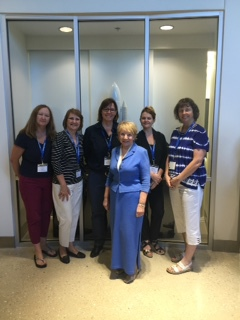 CLCLC Flight Directors with Dr. June Scobee-Rogers