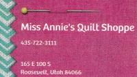 Miss Annie's Quilt Shoppe