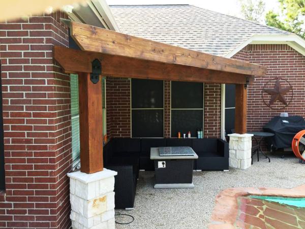 Exterior patio remodel