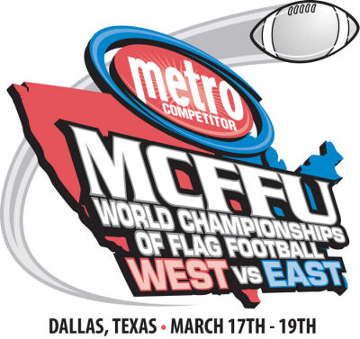 Flag Football, World Championships, Dallas, TX, MCFFU