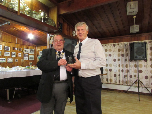 President Rod Bevan with...