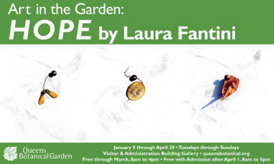 """Queens Botanical Garden, """"Hope"""" by Laura Fantini"""