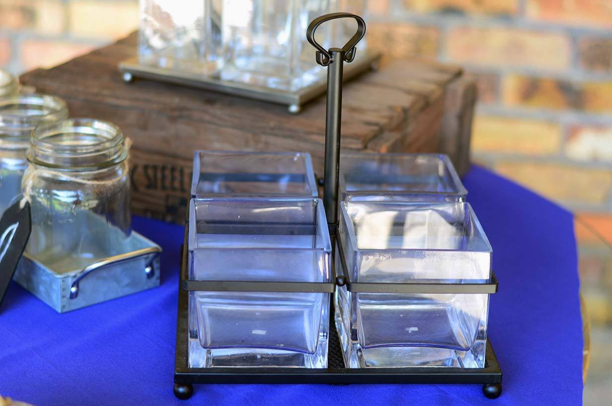The Venue at Dawes Mobile Alabama wedding venue utensil holder