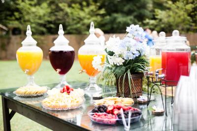 The Venue at Dawes Mobile Alabama wedding venue drink dispenser