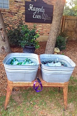 The Venue at Dawes Mobile Alabama wedding tub