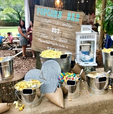 Adorable popcorn pallet sign $20