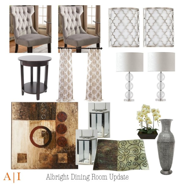 Dining Room Update Mood Board