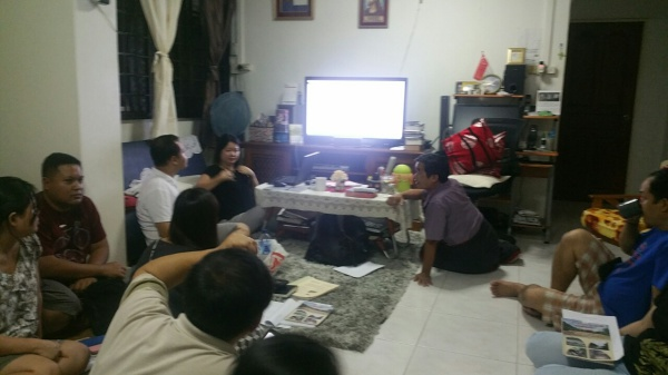 Friends of TCI met to discuss for Syllabus and who can teach what subjects.