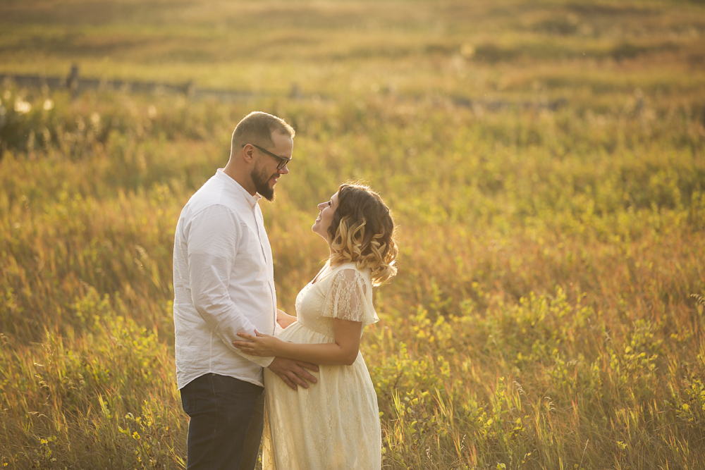 Calgary Fall maternity session
