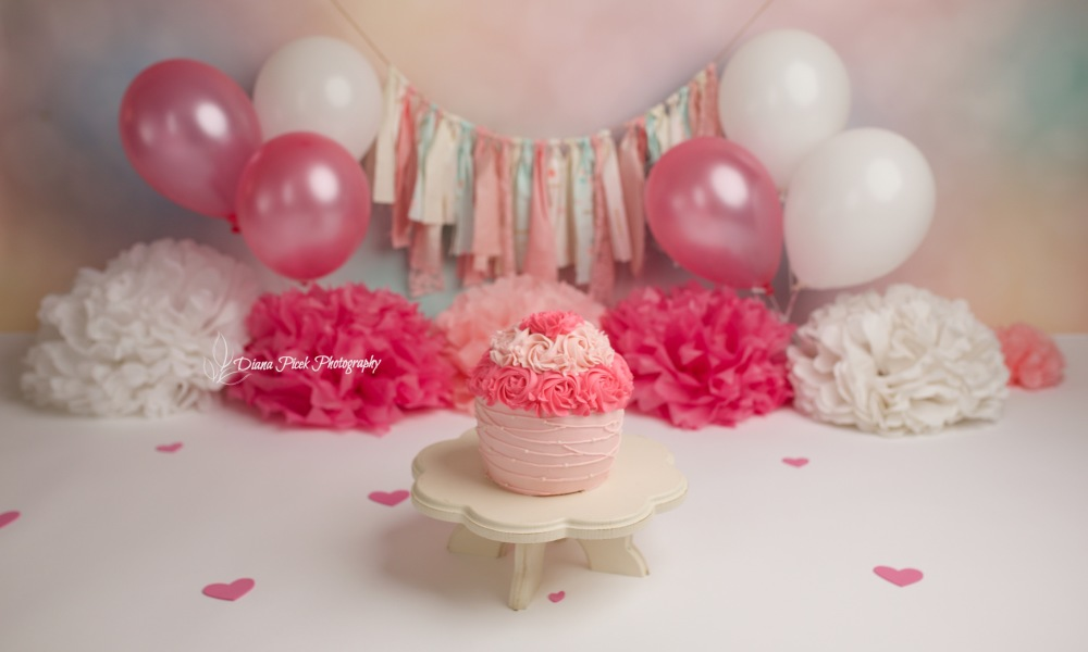 Calgary Cake Smash Photographer/ Afsahali's session