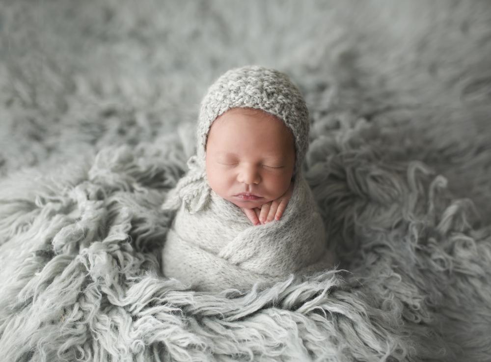 Calgary & Airdrie Newborn Photographer- Baby Dax