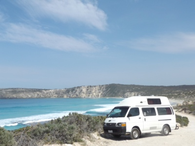 Driving on Kangaroo Island