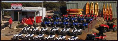 Quad Bike Kayak tours Kangaroo Island