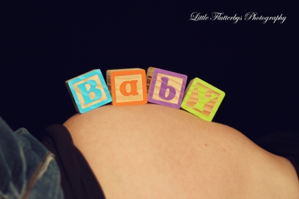 Maternity Photos Baby