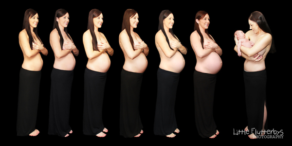 Maternity Photo Timeline Newborn