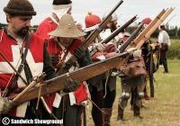 Medieval Siege Society, Medieval Fayre, Sandwich Showground