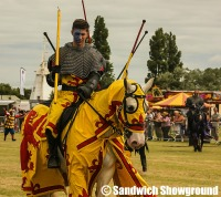 Knights of the damned, Medieval Fayre, Jousting, Sandwich Showground, Kent, events