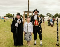 Mayor of Sandwich, Town Crier, Medieval Fayre, Sandwich Showground, East Kent, Event