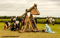 Trebuchet, Medieval Siege Society, Sandwich Showground, East Kent, Events