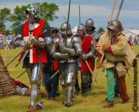 Medieval Siege Society, Medieval Fayre, Sandwich Showground, East Kent events