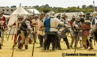 Medieval Siege Society, Medieval Fayre, Sandwich Showground East Kent events