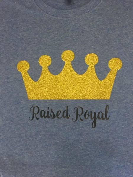 Raised Royal - $25
