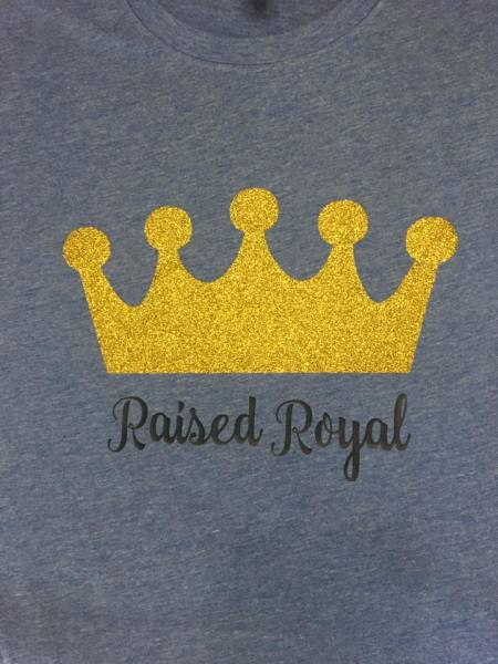Raised Royal - $25