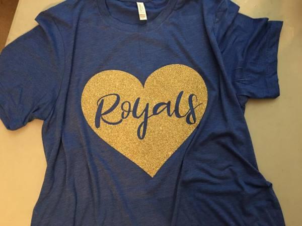 Baseball Heart Shirt - $25