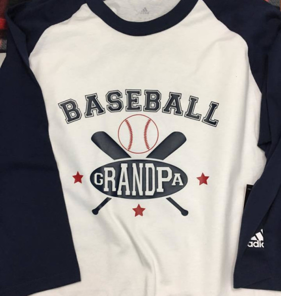 Baseball Grandpa - $30
