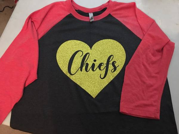 Football Team Raglan - $35