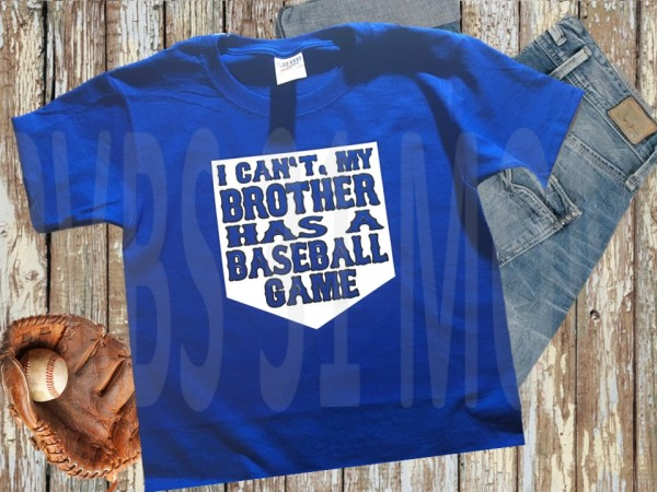 Baseball Sibling - $15